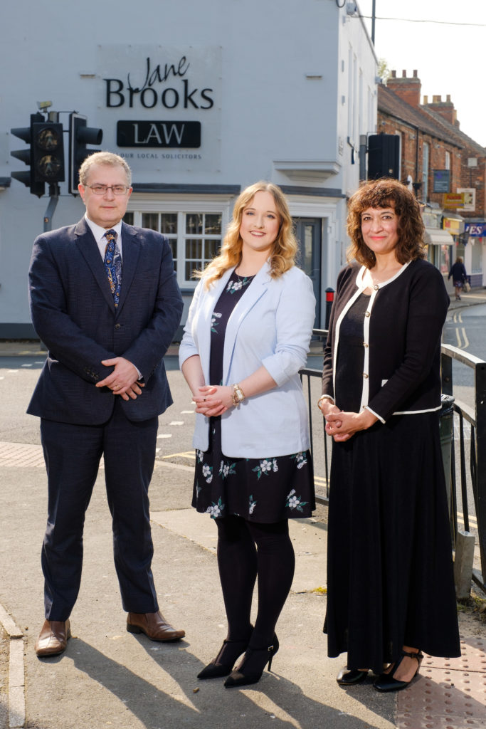 Glen Holden, Lilli Grigg & Amanda Powell at the Cottingham Office